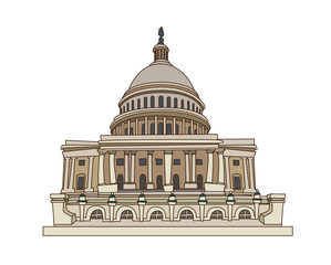 congress USA on a white background
