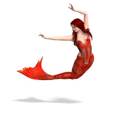 Photo sur Plexiglas Mermaid beautiful mermaid