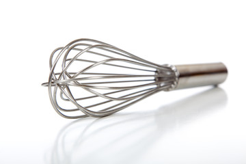 Wire Whisk or Whip on White