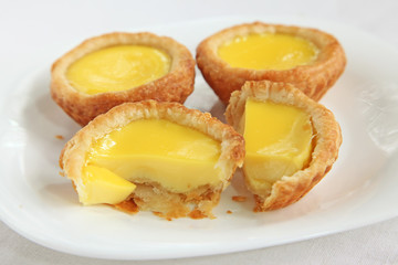 Asian egg tarts