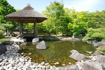 Koko-En Gardens in Himeji