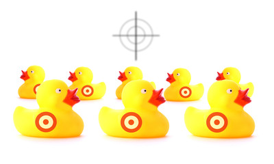 Shoot the ducks