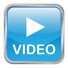 "Square vector ""Play Video"" button (blue)"