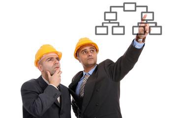 businessman architect