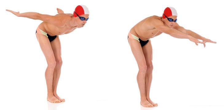 Athlete, swimmer