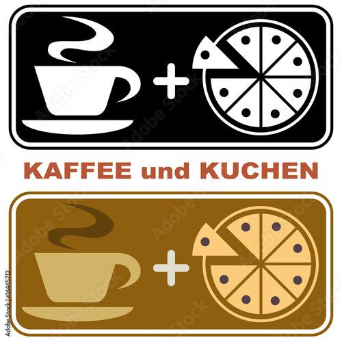 Icon Kaffee Und Kuchen Stockfotos Und Lizenzfreie Vektoren Auf