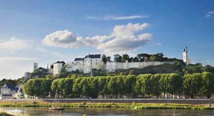 Chinon castle, France