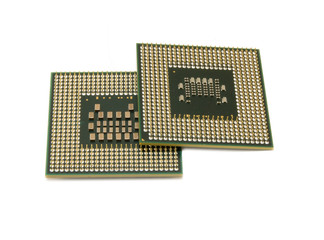 central processing unit isolated