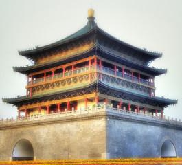 Keuken foto achterwand Xian Xi'an / Xian (China) - Cityscape