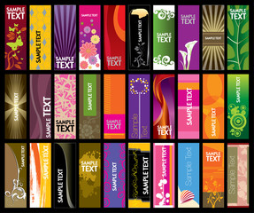 Vertical Banner Collection