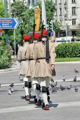 Wachwechsel in Athen
