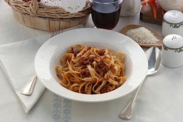 Tagliatelle al ragù  - Primi piatti Emilia Romagna