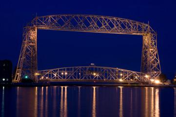 dusk view bridge
