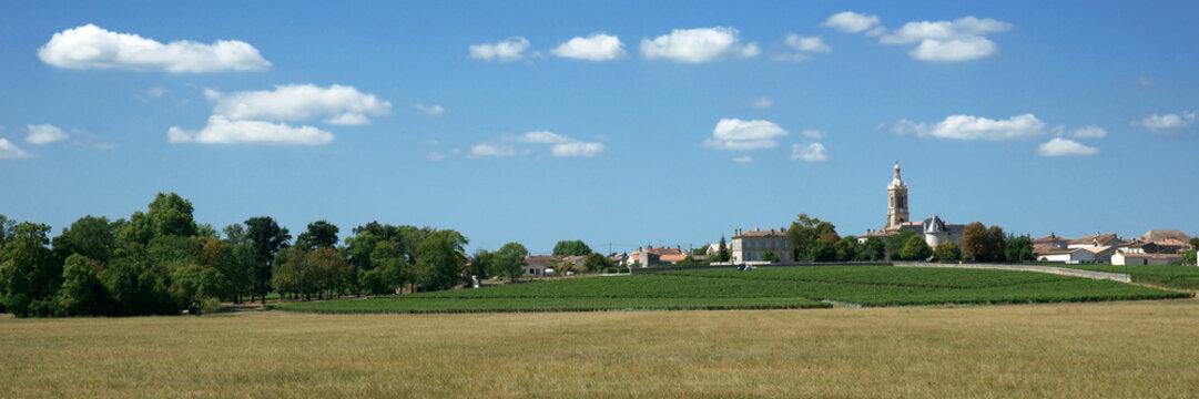 Clocher et village