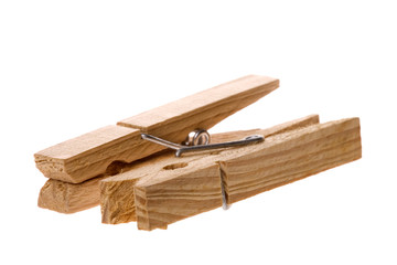 Wooden Laundry Pegs
