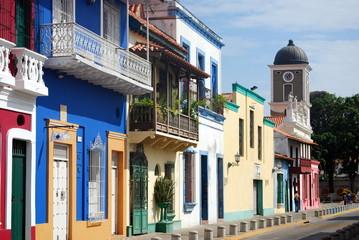 Poster South America Country Puerto Cabello, Calle Bolívar, Puerto Cabello, Venezuela
