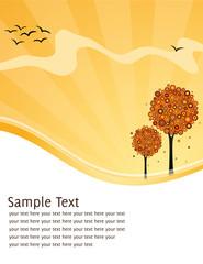 Karte Herbst