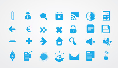 Collection of icons for your business website.