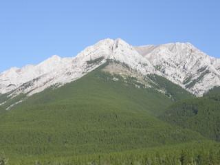 Rocky Mountains In Kananaskis in Alberta, Canada