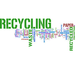 Recycle tag cloud