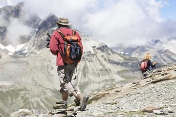 Wanderung in der Schweiz