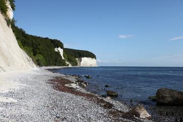 Steiniger Strand bei Sassnitz - Stony beach at Sassnitz - Rügen
