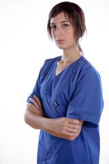 Nurse In A Break