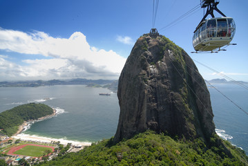 Zuckerhut, Seilbahngondel, Rio de Janeiro