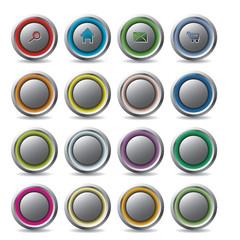 Customizable web buttons