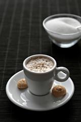 Cappucino mit Zucker