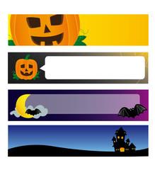 Halloween bannars