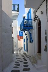 Ruelle à Mykonos – Cyclades – Grèce