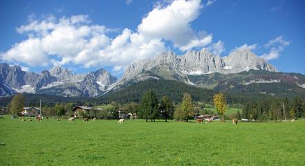 Tirol - Panorama des Wilden Kaiser