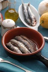 Sardoncini al coccio - Secondi di pesce - Emilia Romagna