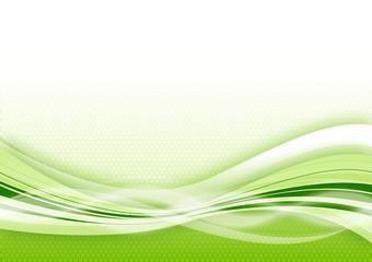 raster green background
