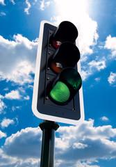 Verkehrsampel Grün