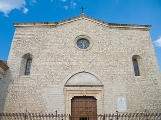 S. Andrea Cathedral. Venosa. Basilicata.