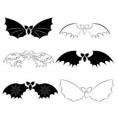 Set of original bats