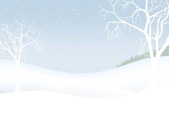 White Christmas - winter scenery - christmas background