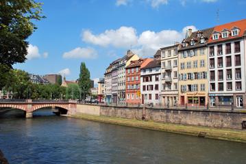 Maisons colorées à Strasbourg
