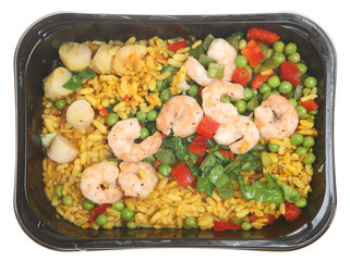 Paella TV Dinner