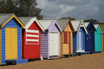 cabanes plage