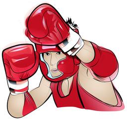 Thai Boxing competitor