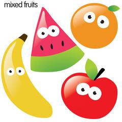 solated fruit set