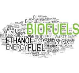 Biofuel tag cloud
