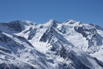 Fototapeten Alpen Caucasian mountains