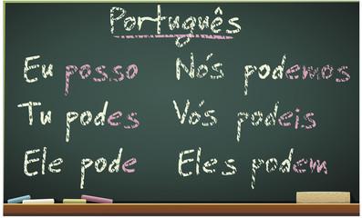Cursos de Português (conjugação)