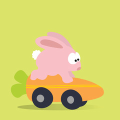 Bunny Racing Carrot Mobile