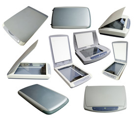 Set of scanners