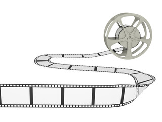 Film Reel with Strip